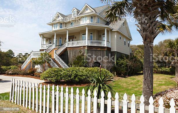Coastal Residence Stock Photo - Download Image Now