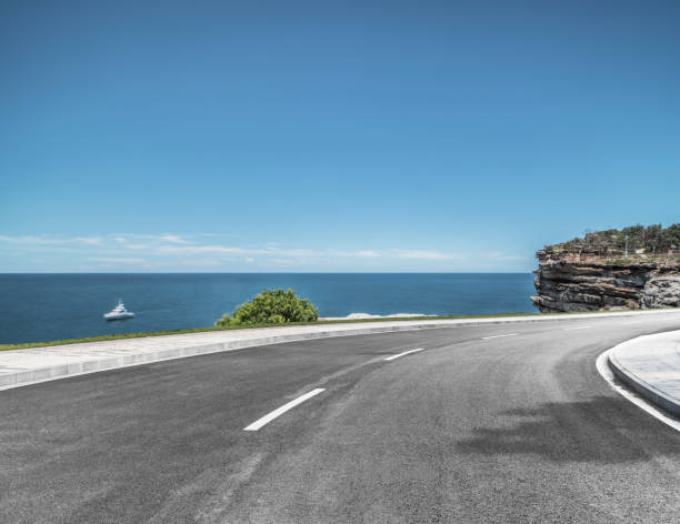 Küstenstraße von North Head Sydney, Australien – Foto