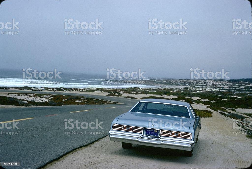 Coastal Road, Northern California stock photo