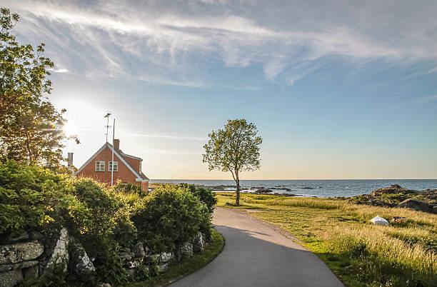 Küstenstraße auf Bornholm – Foto