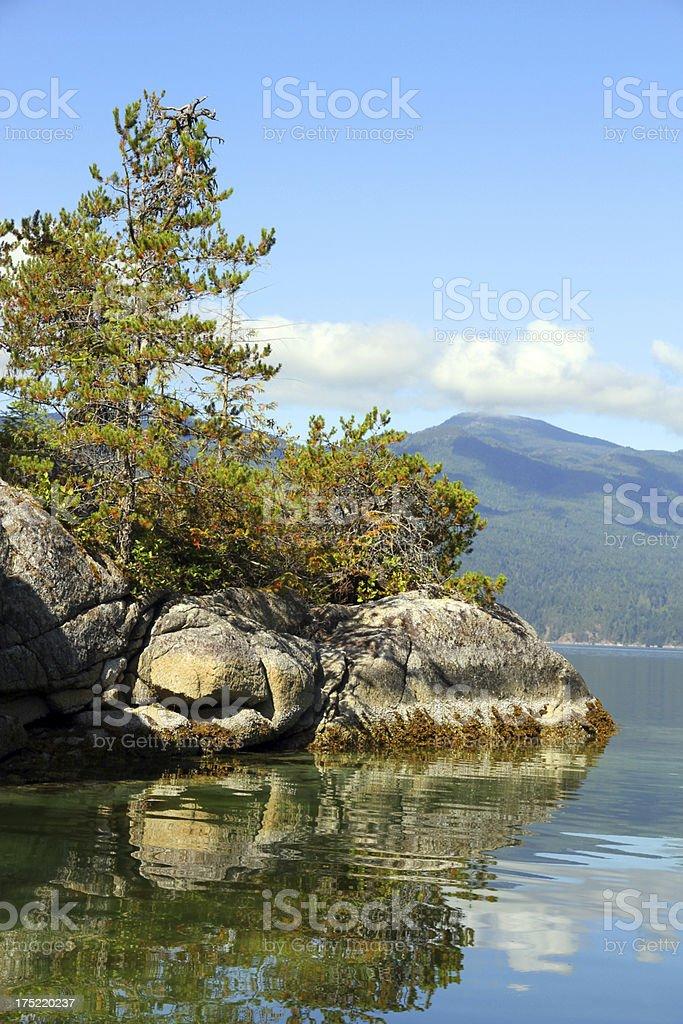 Coastal Rocks stock photo