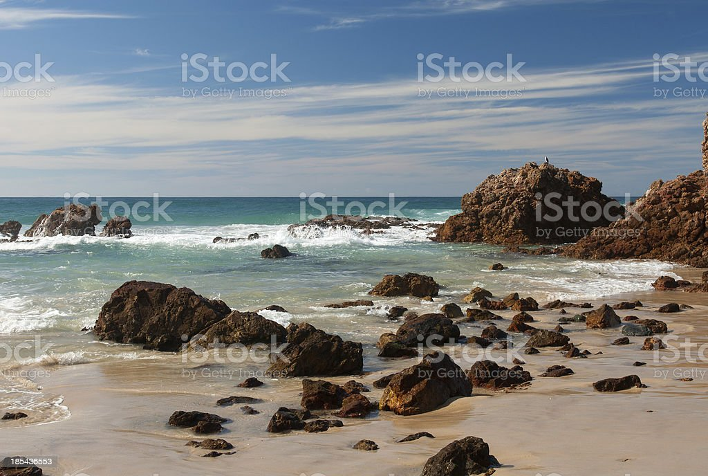 Coastal Scene royalty-free stock photo