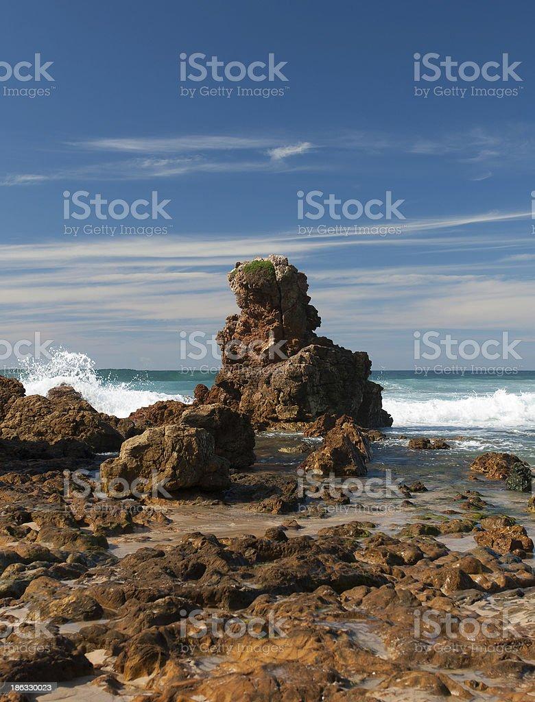 Coastal Scene royalty-free stock photo
