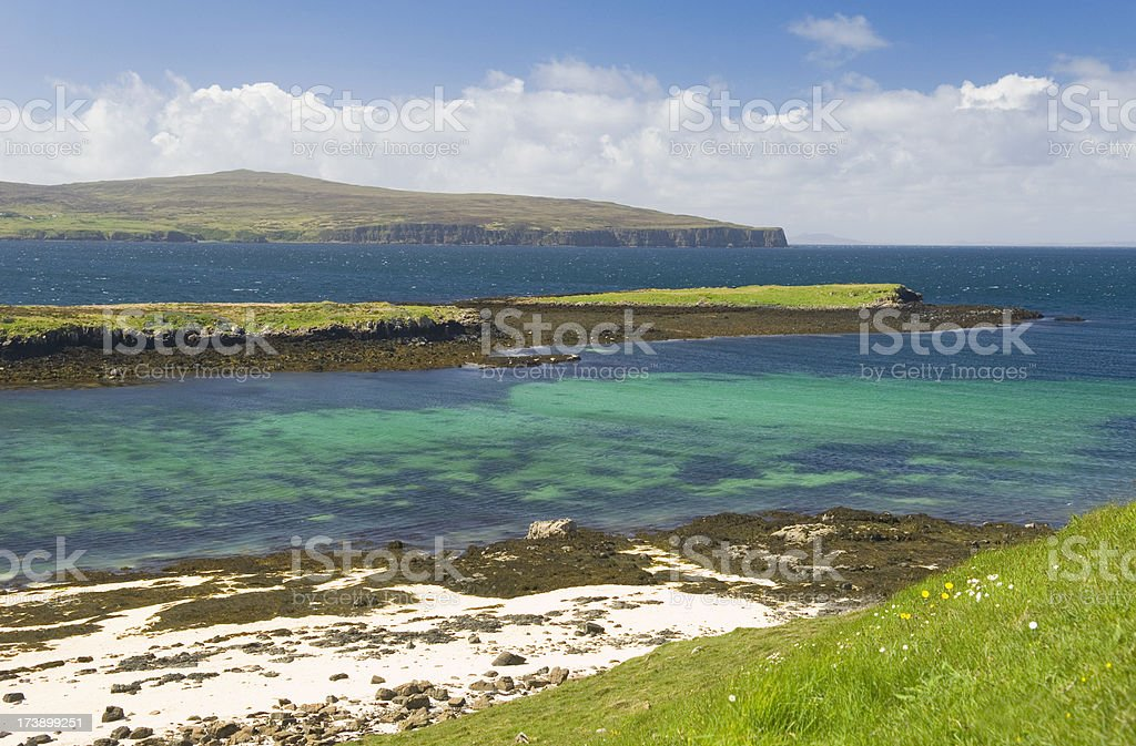 Coastal scenery, Isle of Skye royalty-free stock photo