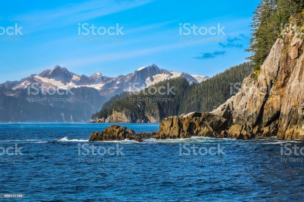 Coastal scenery, Kenai Fjords – Foto