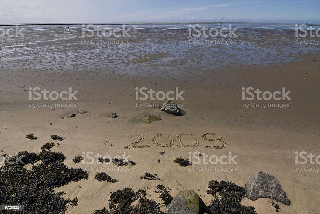coastal scenery stock photo