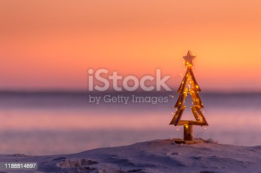 istock Coastal summer Christmas.  Christmas in Australia 1188814697