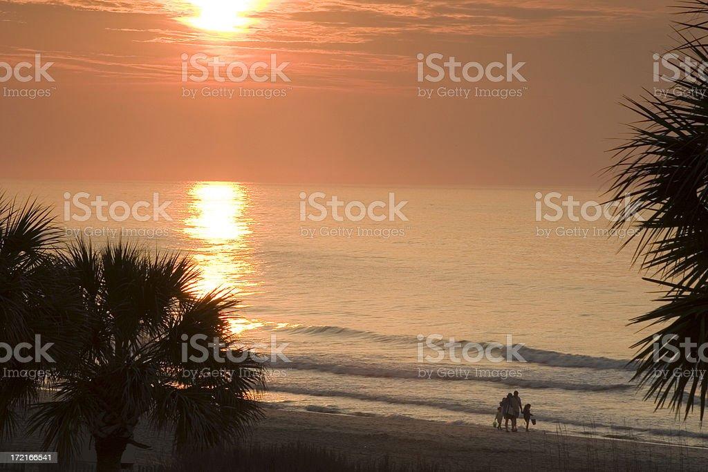 Coastal Sunrise #4 royalty-free stock photo