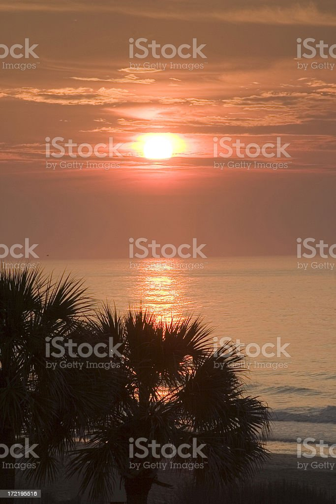 Coastal Sunrise #1 royalty-free stock photo