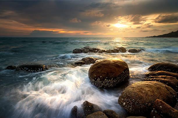 Coastal Sonnenaufgang – Foto