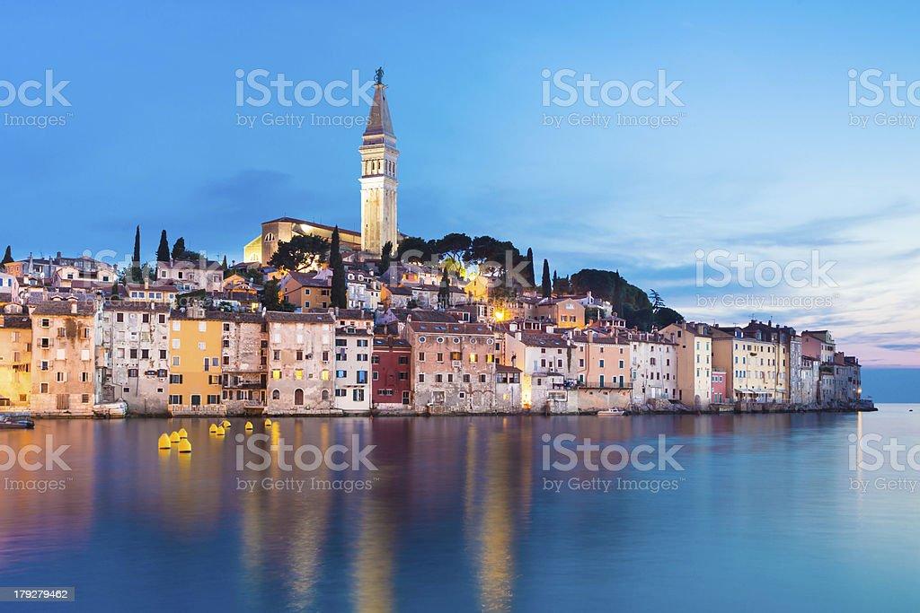 Küstenstadt Rovinj, Kroatien, Istrien. – Foto