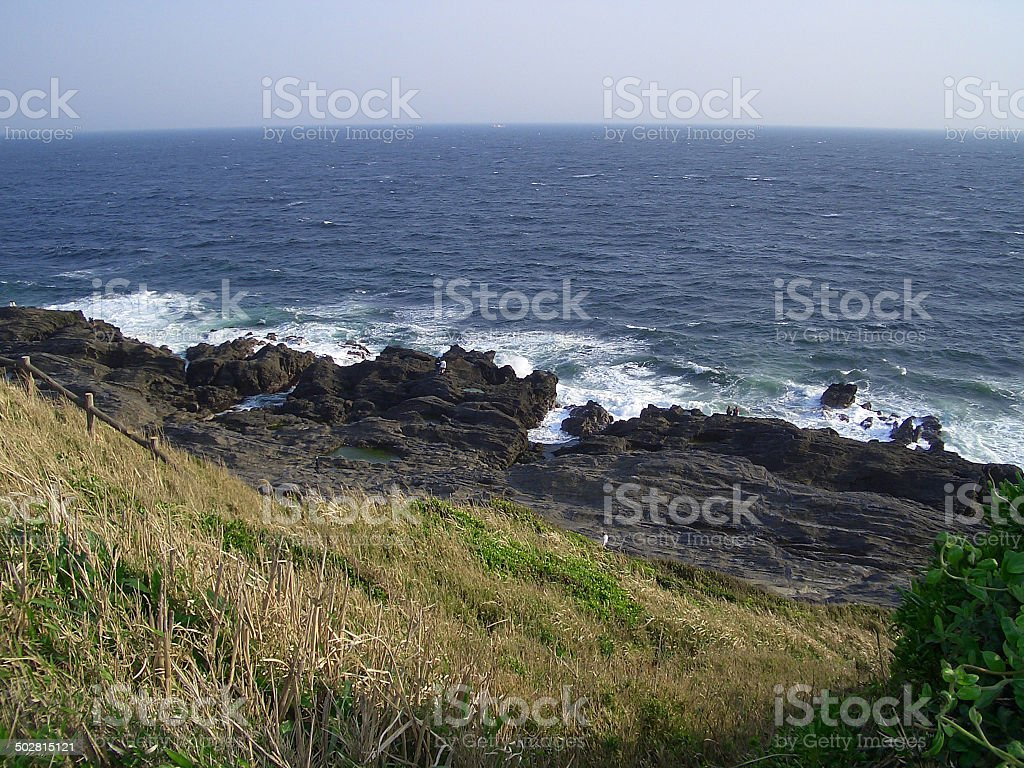 Coastal View - Japan stock photo