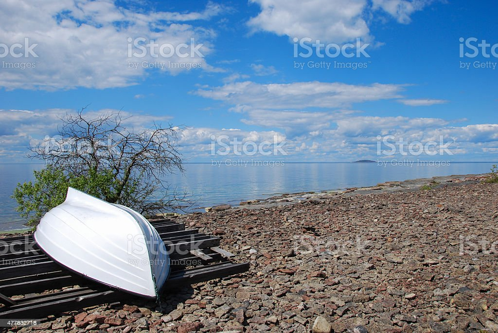 Coastal view stock photo