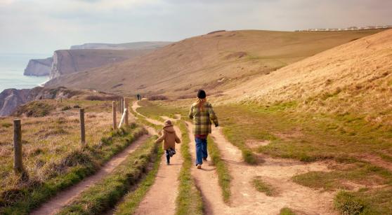 Coastal walk, Dorset