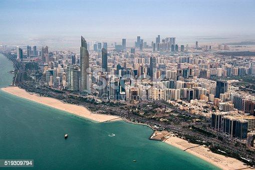 517465184 istock photo Coastline in Abu Dhabi 519309794
