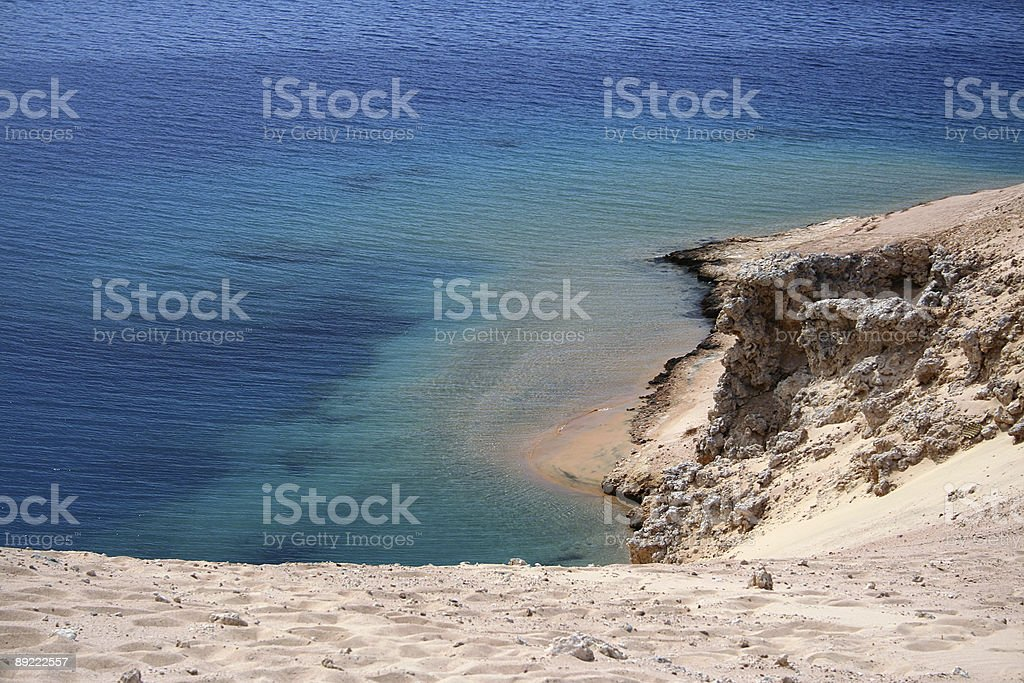 coastline landscape royalty-free stock photo