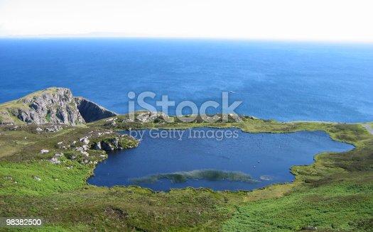 Coastline Landscape Stock Photo & More Pictures of Blue