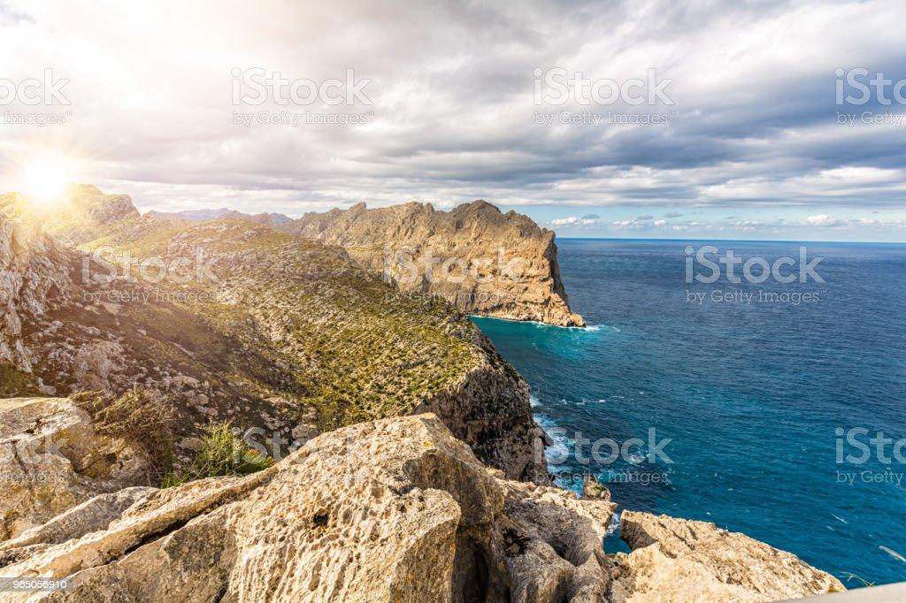 Coastline Majorca royalty-free stock photo