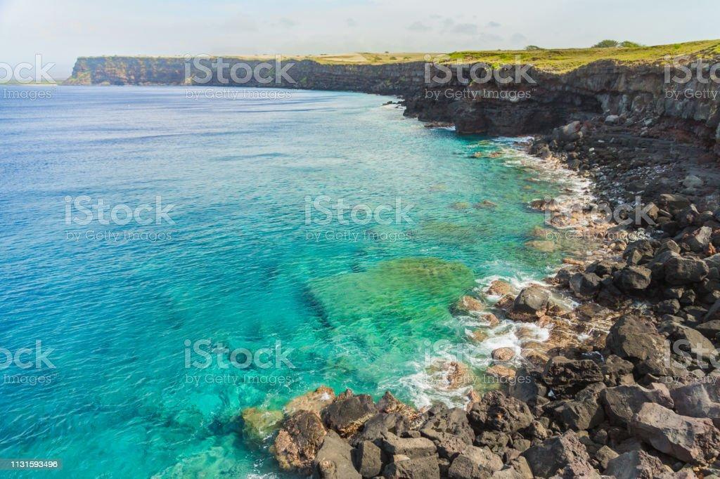 Küste der großen Hawaii-Insel – Foto