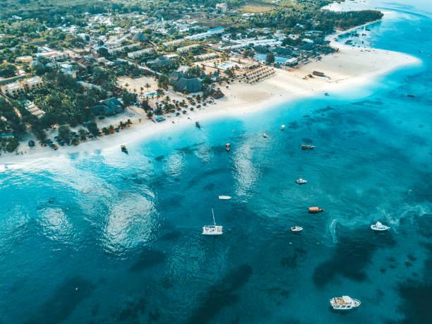 Küste tropisch zanzibar – Foto