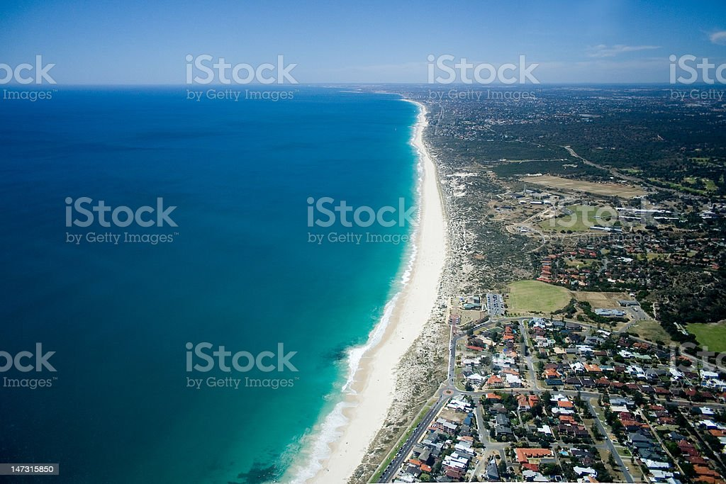 Coastline - Perth, Western Australia stock photo