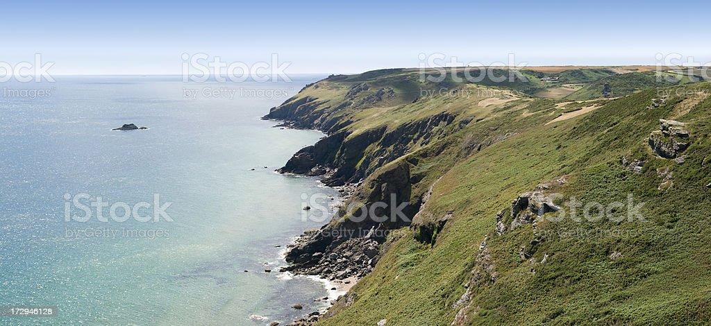 coastline royalty-free stock photo
