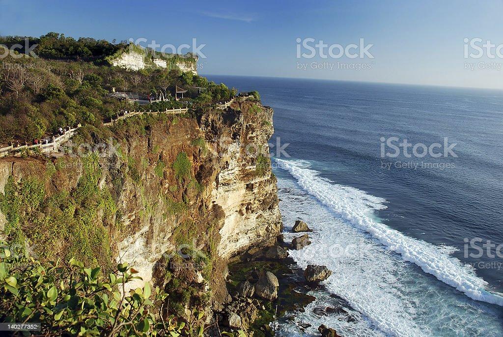 Coastline scenery royalty-free stock photo