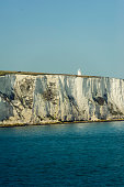 istock coastline seen when arriving at dover with the boat 487589146
