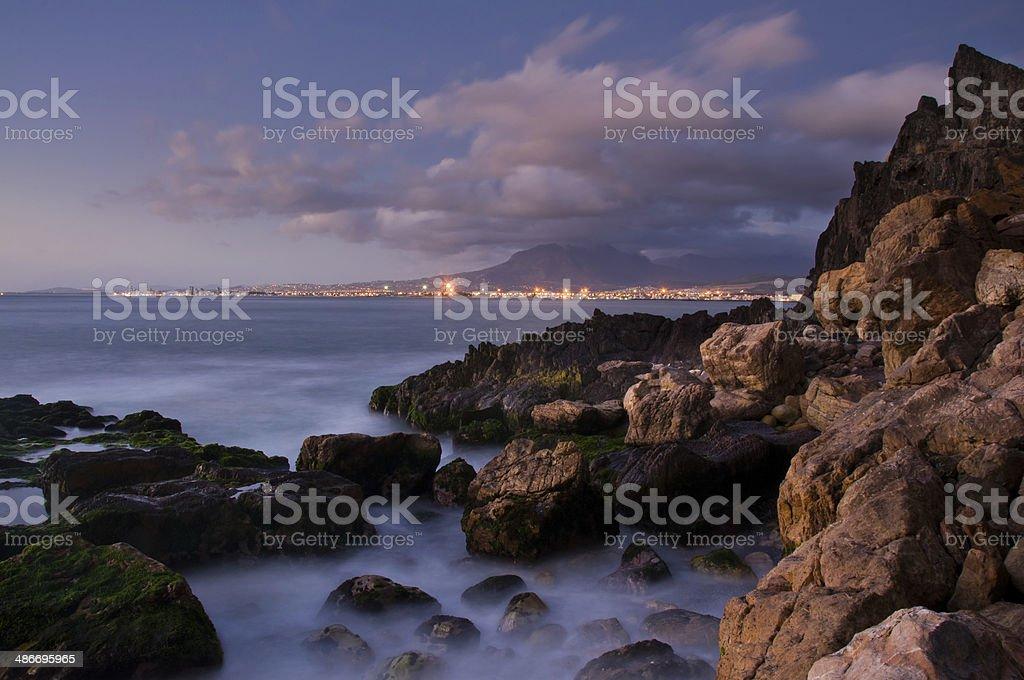Coastline South Africa stock photo