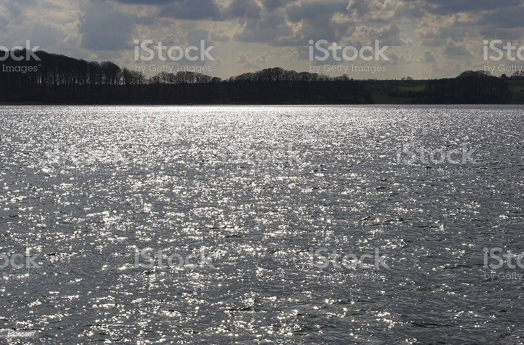 Costa soleggiata onde foto stock royalty-free