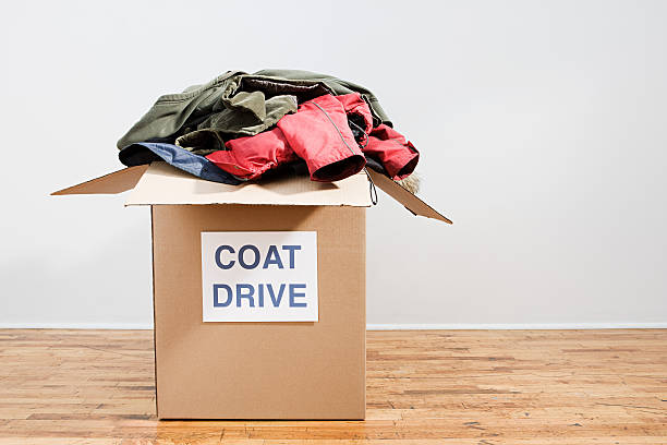 Coat drive  coat garment stock pictures, royalty-free photos & images