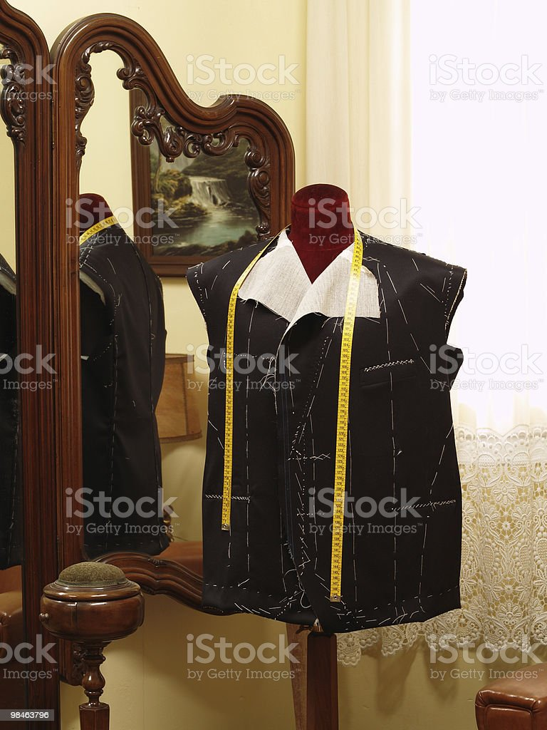 Coat on a dummy royalty-free stock photo