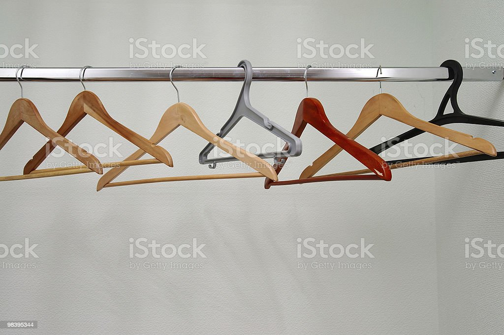 coathangers royalty-free stock photo