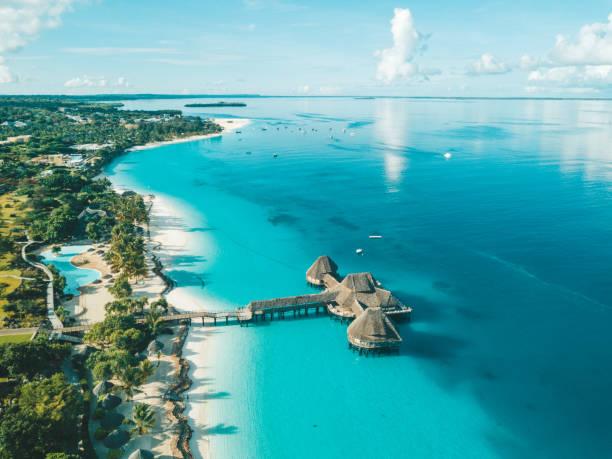 Lackline der Zanzibar am indischen Ozean – Foto