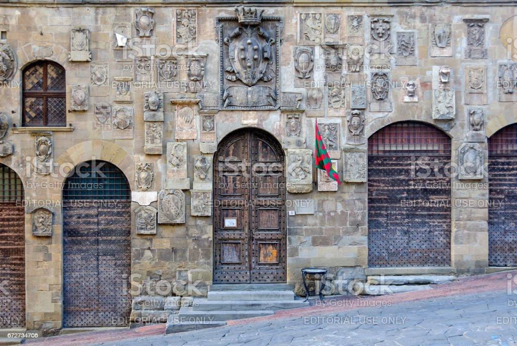 Coats of arms - Arezzo - foto stock