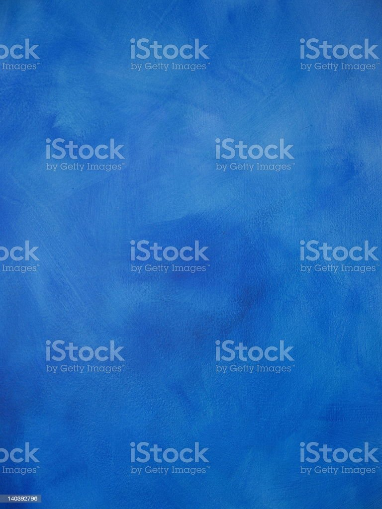 Cobalt Colourwash royalty-free stock photo