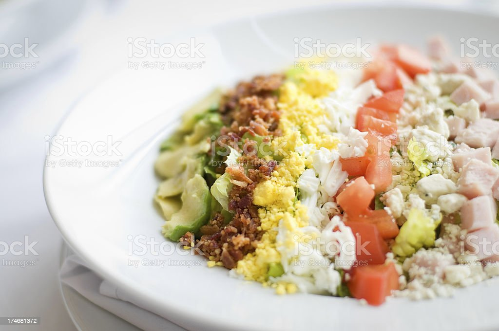 Cobb Salad royalty-free stock photo
