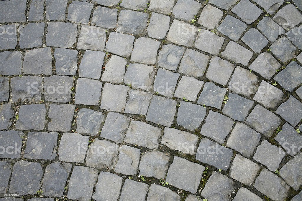 cobbled abstract back full frame cobblestone detail Abstract Stock Photo