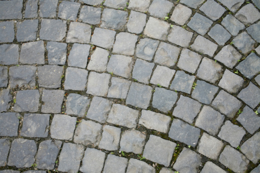 Cobbled Abstract Back Stock Photo - Download Image Now