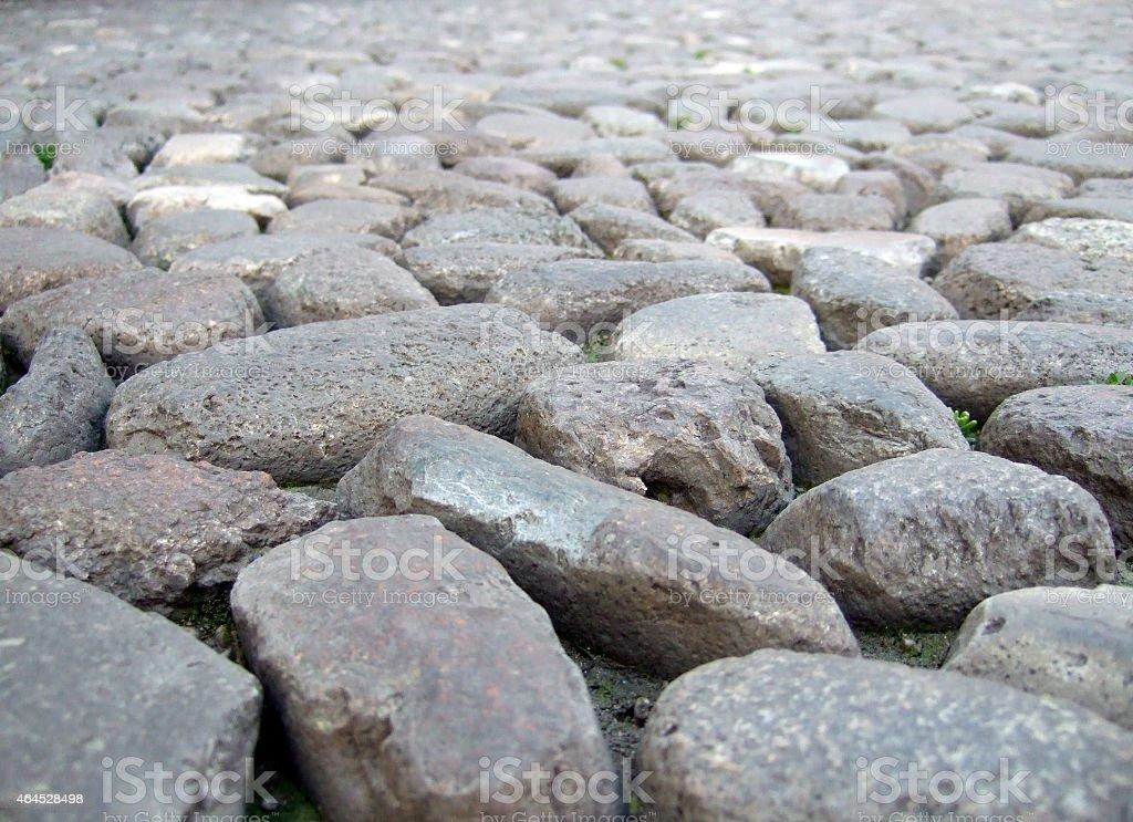 Kopfsteinpflaster stock photo