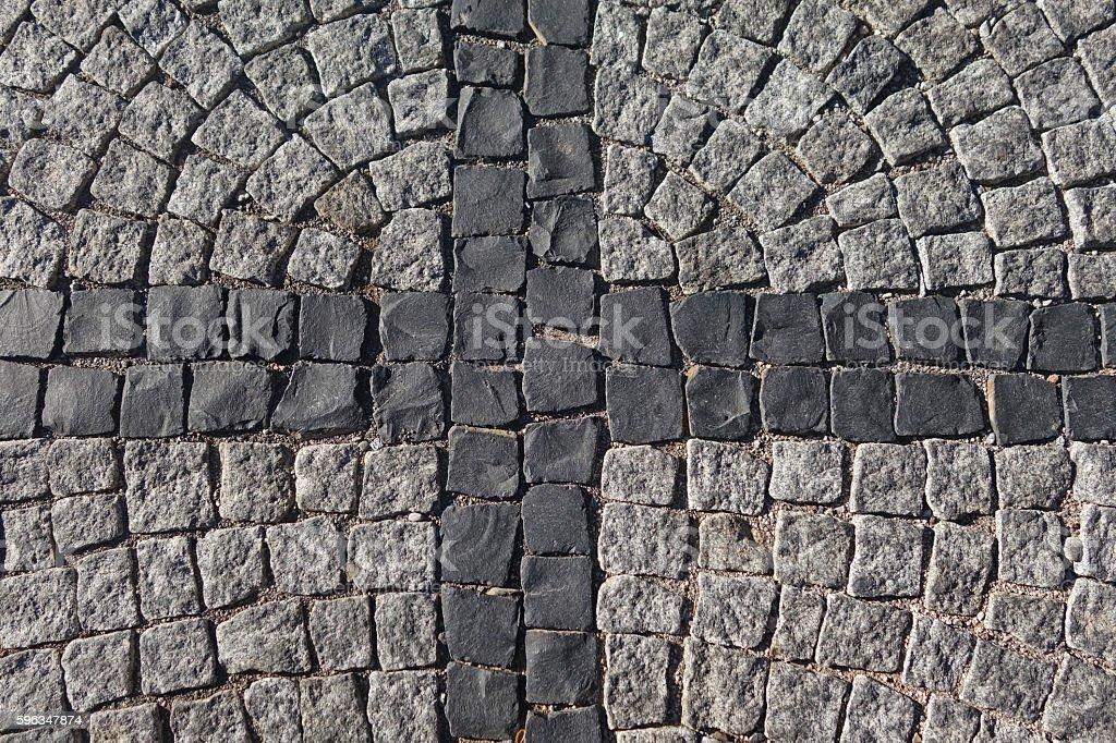 cobblestone royalty-free stock photo