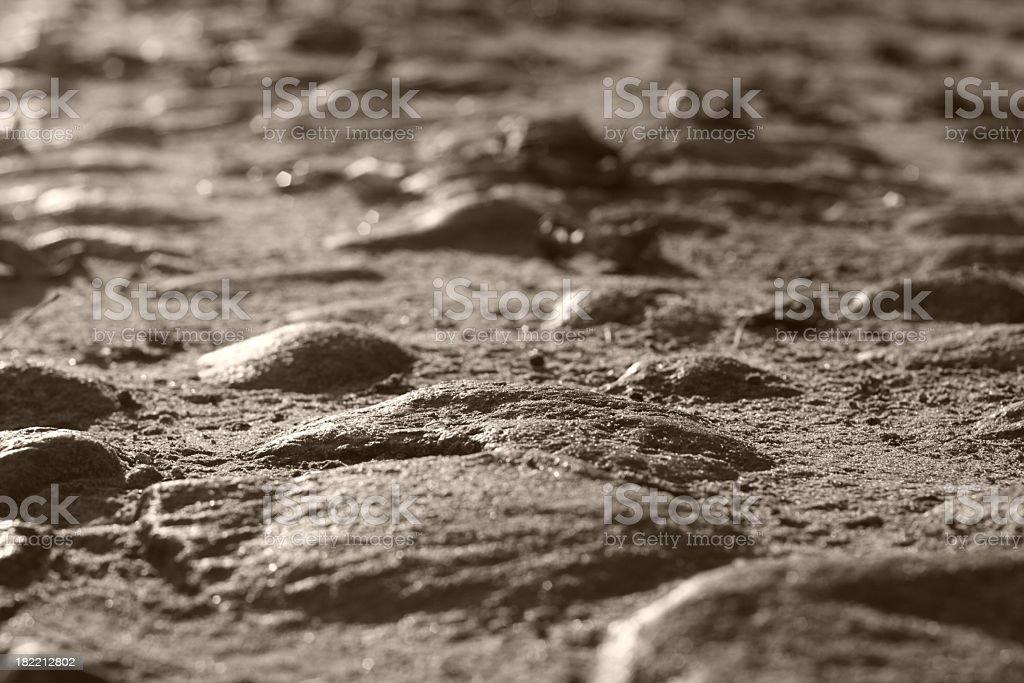 cobblestone road royalty-free stock photo