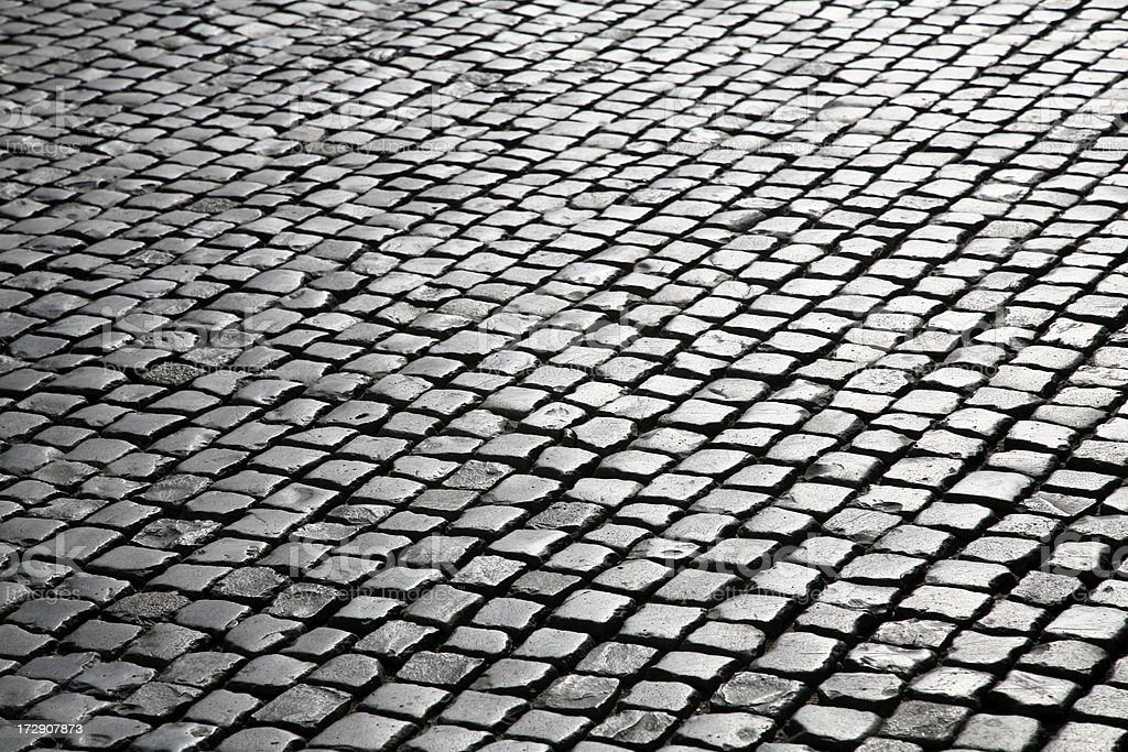 Cobblestones royalty-free stock photo
