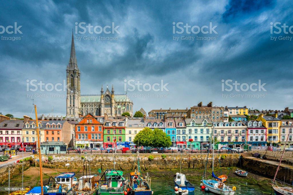 Cobh Cityscape stock photo