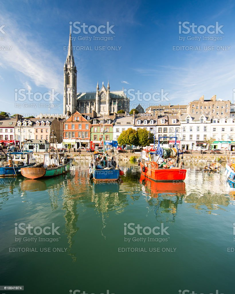Cobh Cityscape stock photo