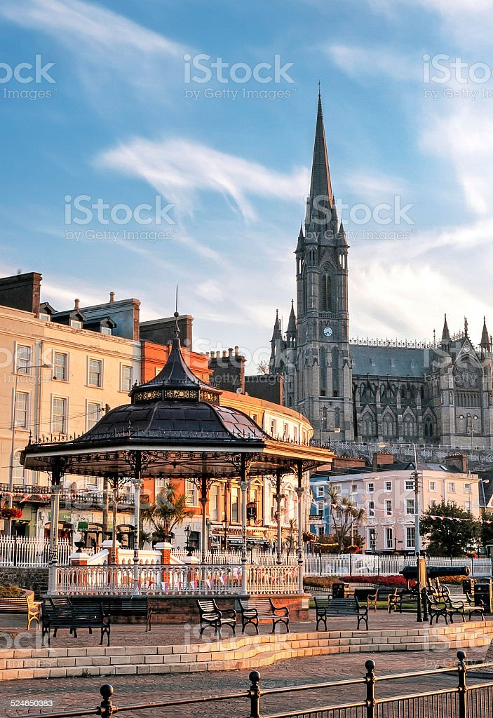 Cobh, County Cork. stock photo