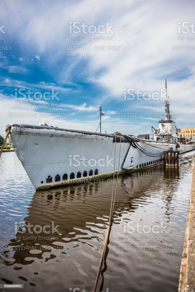 USS Cobia stock photo