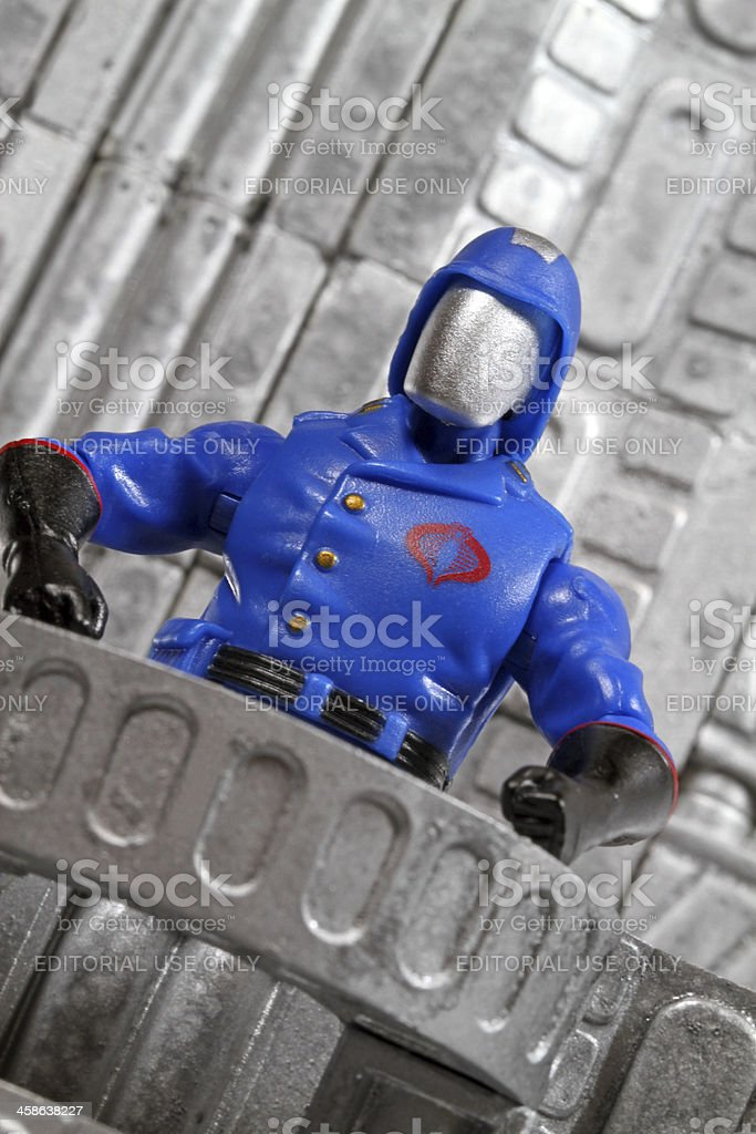 Cobra Commander Would Like Your Attention royalty-free stock photo