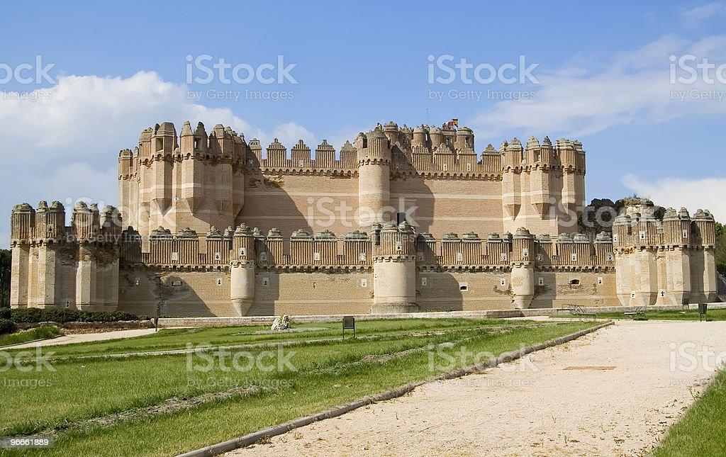 Coca Castle stock photo