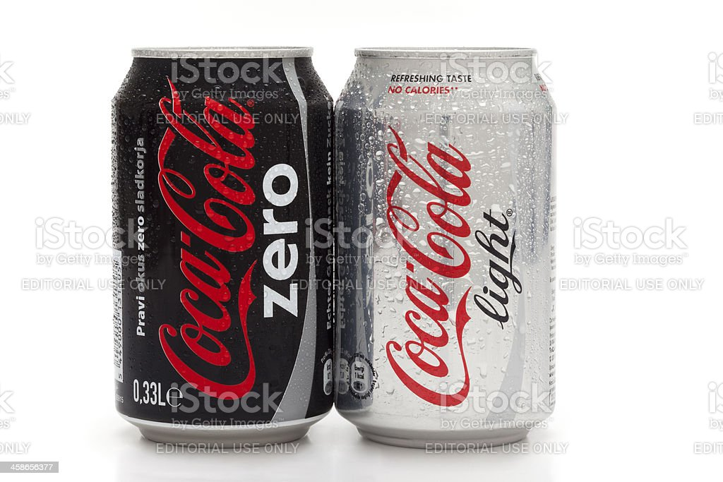 Coca Cola Products stock photo